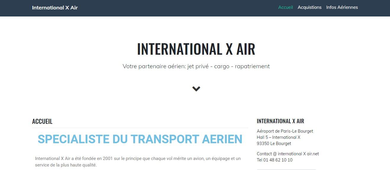 international x air